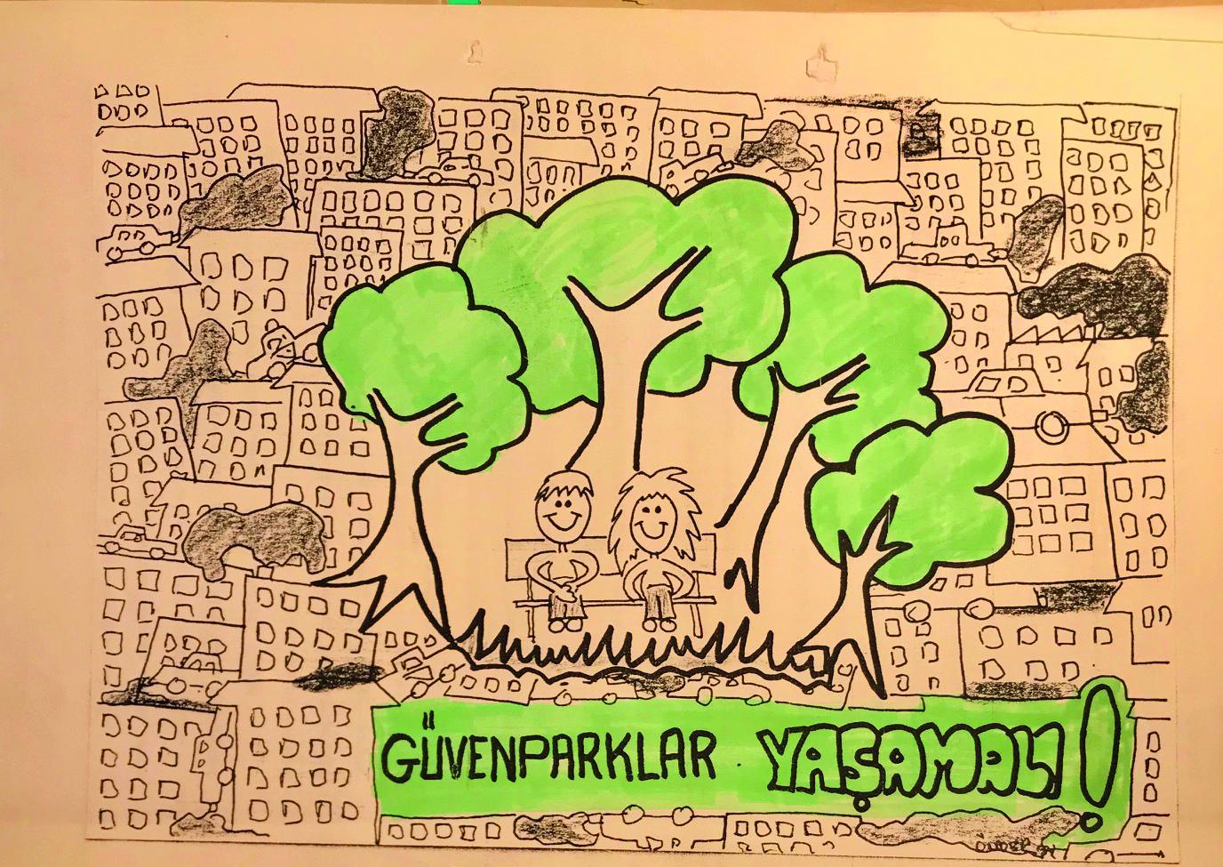 Türkiye'de yeşil hareketin filizlenmesinin hikâyesi ve 30 yıl  sonra yeniden 'Otopark değil Güvenpark' deme zamanı