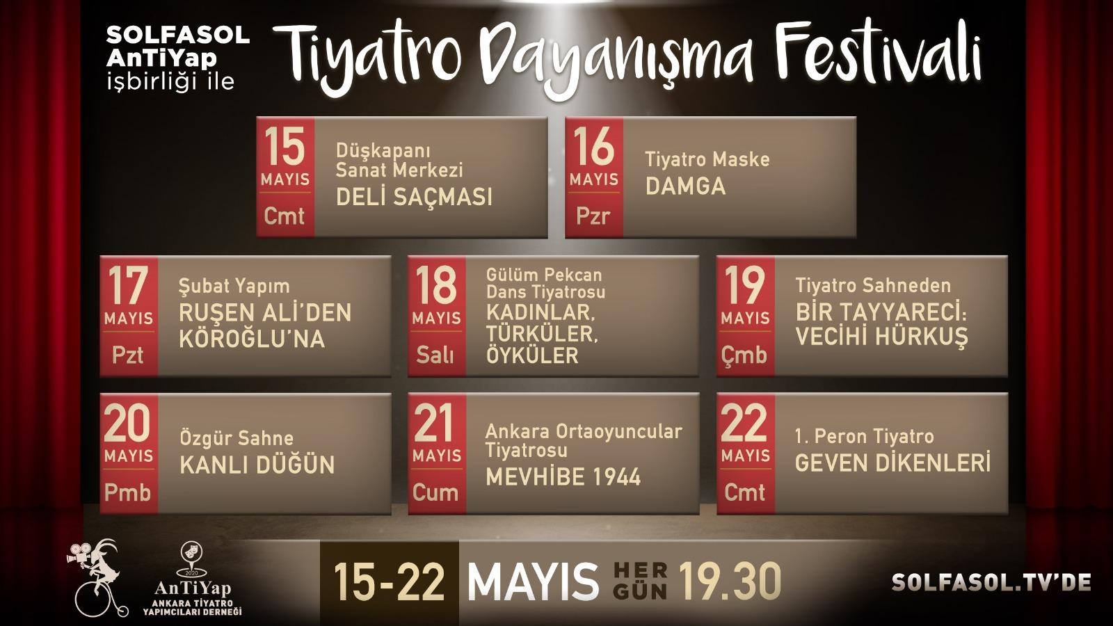 Tiyatro Dayanışma Festivali