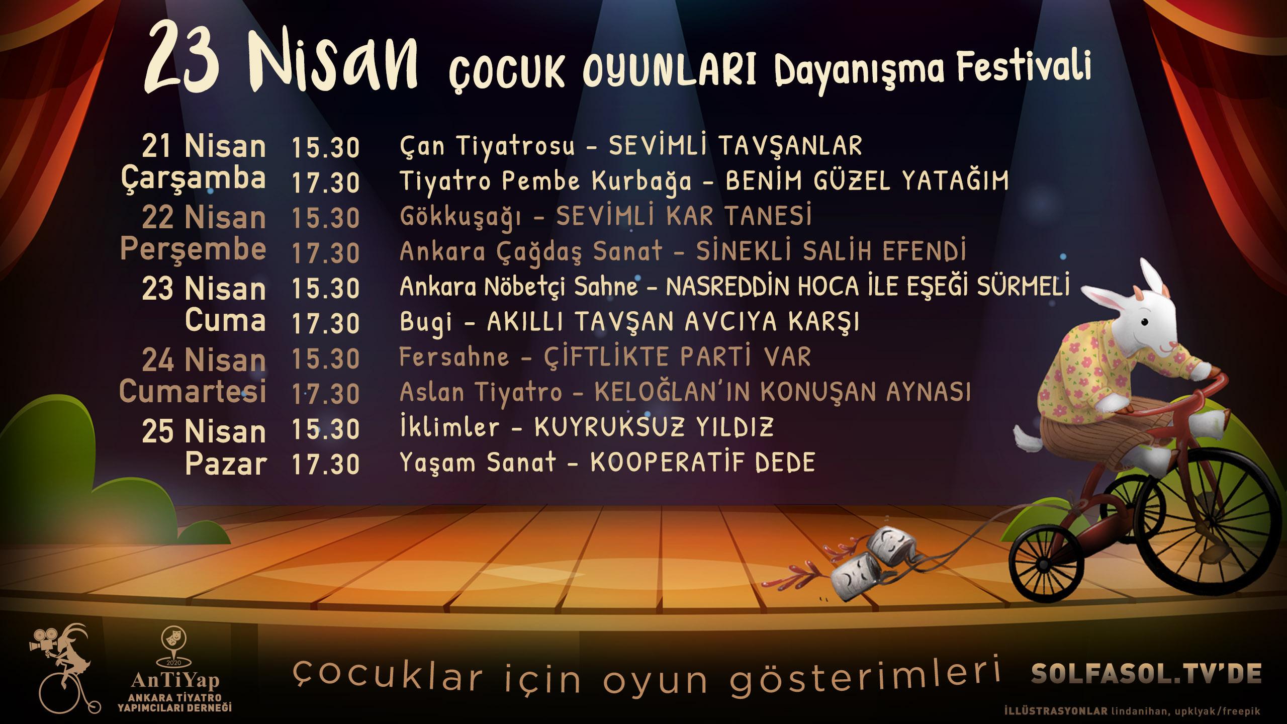 23 Nisan Çocuk Oyunları Dayanışma Festivali