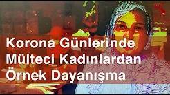 Ankaralı Mülteci Kadınlar Sağlıkçılar için Siperlik, Komşuları için Sabun Üretiyor...