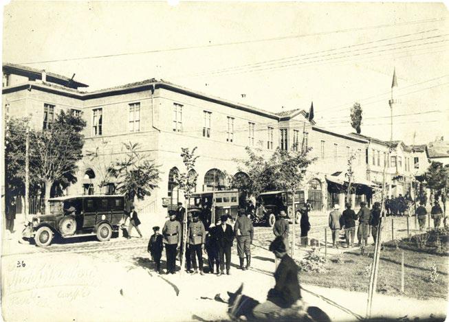 Taşhan, Ankara; Fotoğraf: Jean Weinberg SaltArşiv